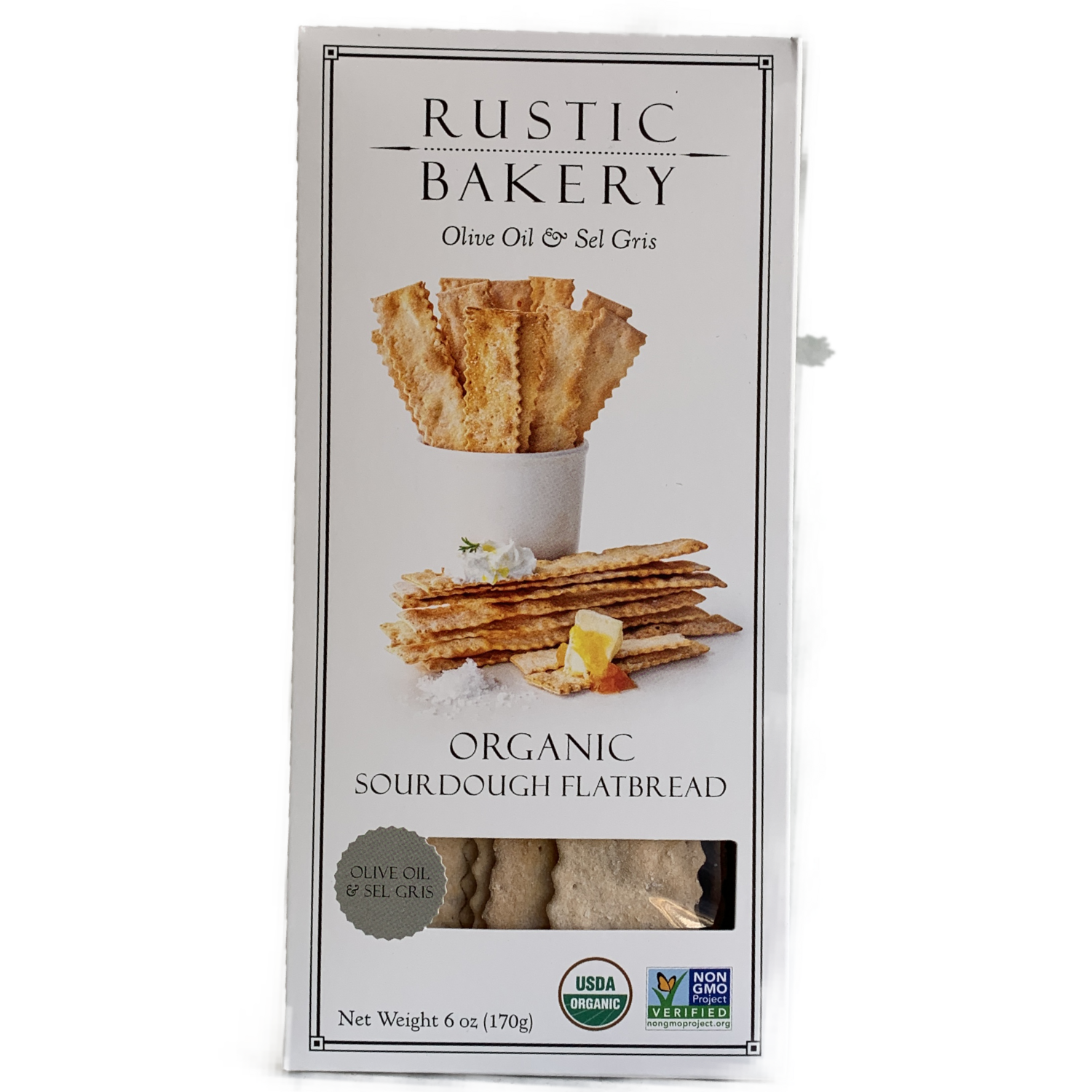 Rustic Bakery Olive Oil + Sel Gris