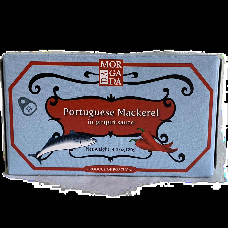 Da Morgada Mackerel in piripiri sauce