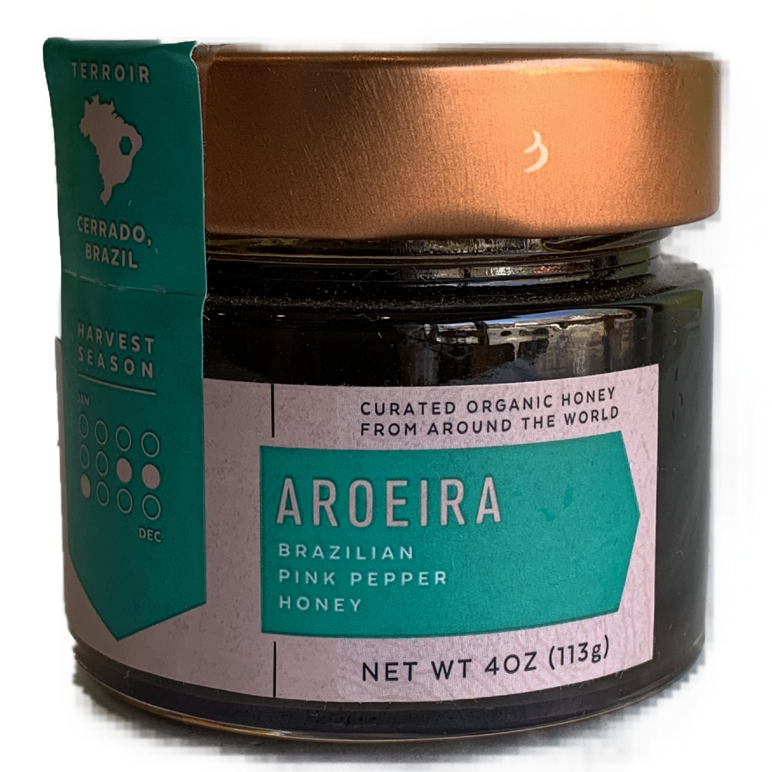 BeeSeasonal AROEIRA honey 4 oz.
