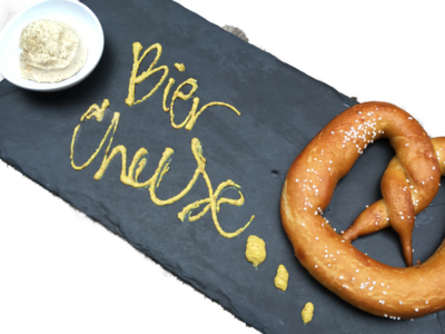 Pretzel w/ Bier Cheese