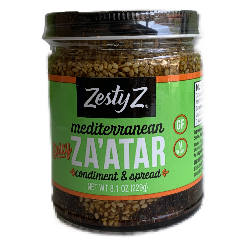 Zesty Spicy ZA'ATAR Mediterranean condiment