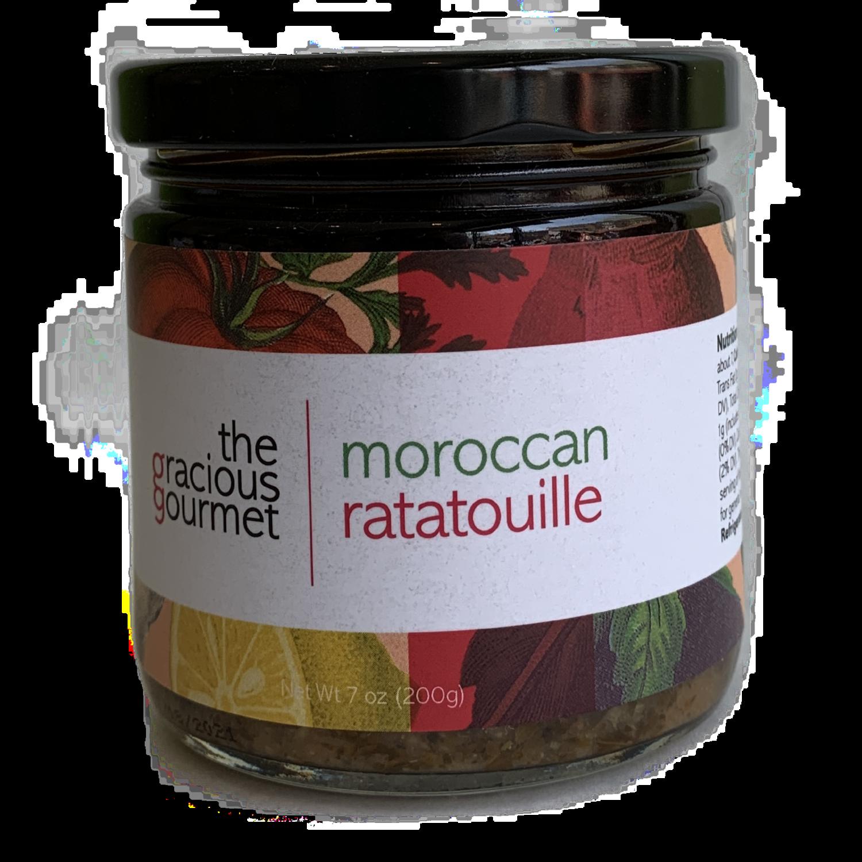 Moroccan ratatouille gracious gourmet