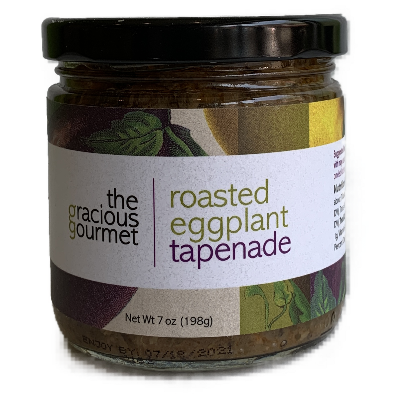 Roasted eggplant tapenade gracious gourmet