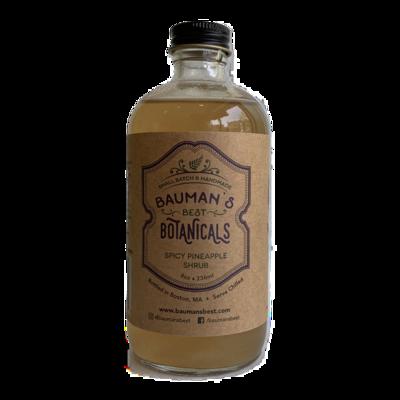 BAUMAN'S BOTANICAL spicy pineapple shrub