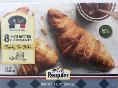 Frozen / Bread / Brioche Pasquier Mini Croissant , 8 pk