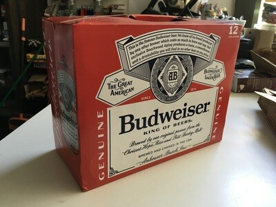 Beer / 12 Pack / Budweiser 12pk