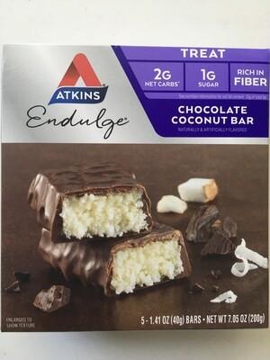 Snack / Bar / Atkins Coconut Chocolate Bar, 5pk