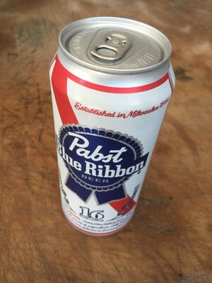 Beer / 16 oz  / Pabst Blue Ribbon 16oz