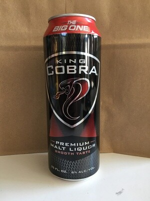 Beer / 24 oz / King Cobra 25oz