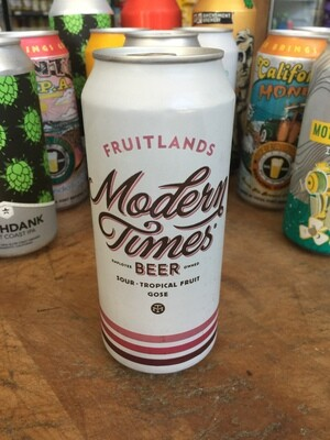 Beer / 16 oz / Modern Times,  Fruitlands, Tropical Gose 16 oz