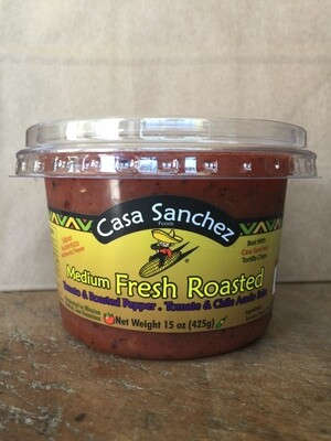 Deli / Salsa / Casa Sanchez Fresh Roasted Salsa