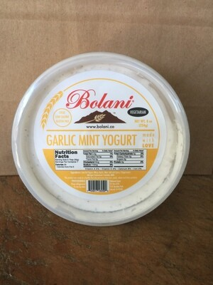 Deli / Sauce / Bolani Garlic Mint Yogurt, 8 oz