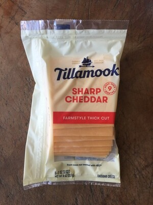 Deli / Cheese / Tillamook Deli Sliced Sharp Cheddar
