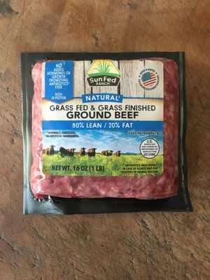 Deli / Meat / SunFed Ranch Ground Beef, 1 lb