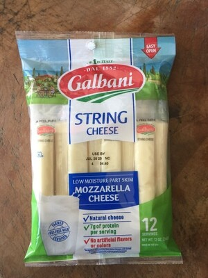 Deli / Cheese / Galbani String Cheese 12 oz