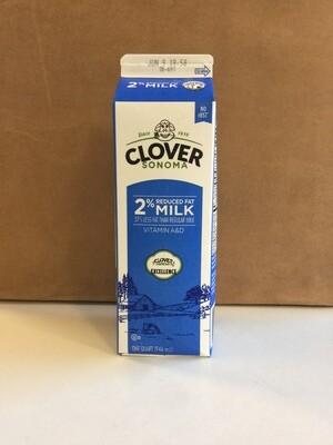Dairy / Milk / Clover 2% Milk Quart