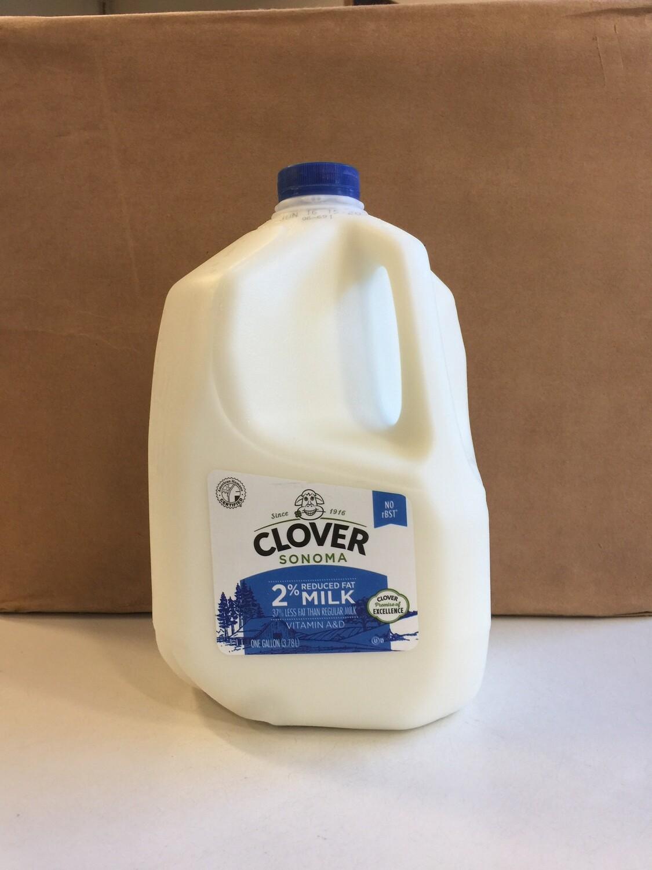 Dairy / Milk / Clover 2% Milk Gallon