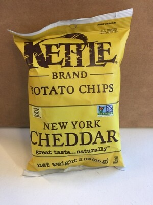 Chips / Small Bag / Kettle Chips NY Cheddar 2 oz
