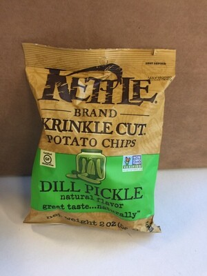 Chips / Small Bag / Kettle Chips Dill Pickle 2 oz
