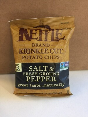 Chips / Small Bag / Kettle Chips Salt and Pepper 2 oz