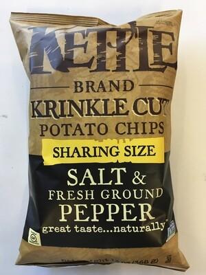 Chips / Big Bag / Kettle Krinkle Black Pepper 14 oz