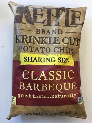 Chips / Big Bag / Kettle Krinkle Barbecue 14 oz