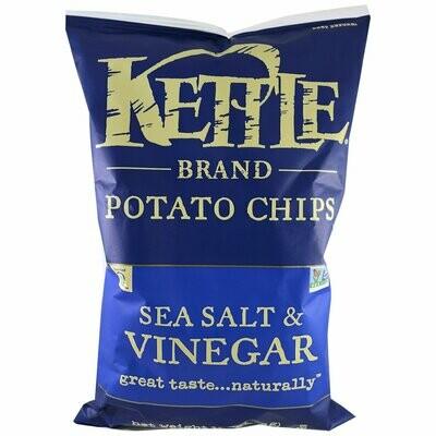 Chips / Big Bag / Kettle Chips Sea Salt & Vinegar 8.5 oz
