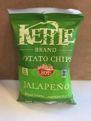 Chips / Big Bag / Kettle Chips Jalapeno 8.5 oz
