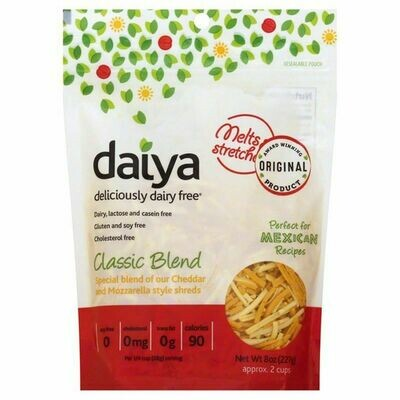 Deli / Cheese / Daiya Classic Blend Shredded Vegan Cheese