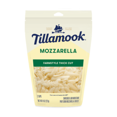 Deli / Cheese / Tillamook Mozzarella, Shredded 8 oz