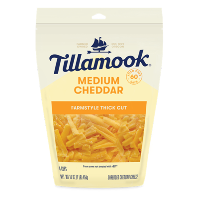 Deli / Cheese / Tillamook Shredded Cheddar