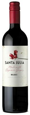 Wine / Red / Organic Santa Julia Malbec Bottle