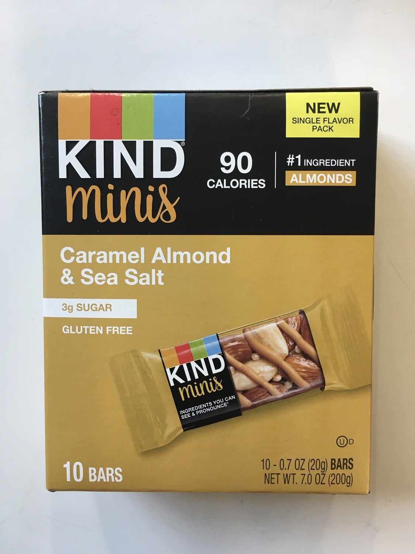 Snack / Bar / Kind Minis Caramel Almond Sea Salt 10 pack