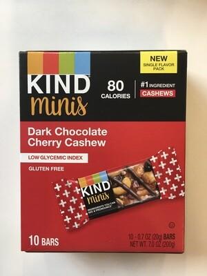Snack / Bar / Kind Minis Dark Chocolate Cherry Cashew 10 pack