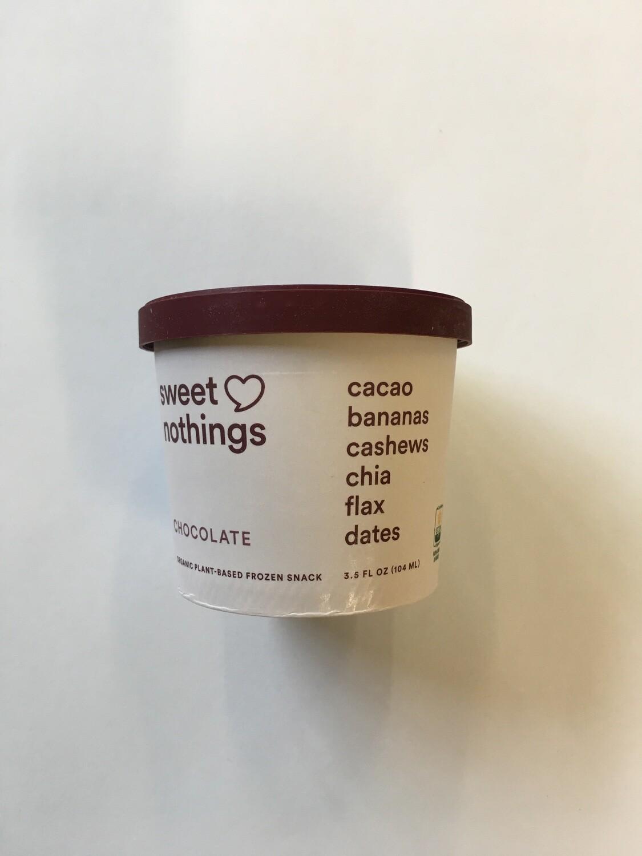 Frozen / Novelty / Ice Cream / Sweet Nothings, Chocolate 3.5 oz