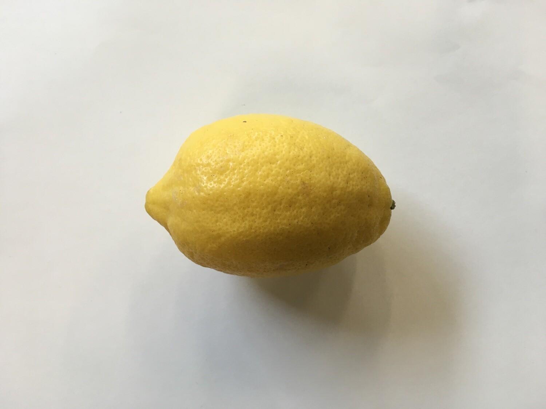 Produce / Fruit / Jumbo Organic Lemon