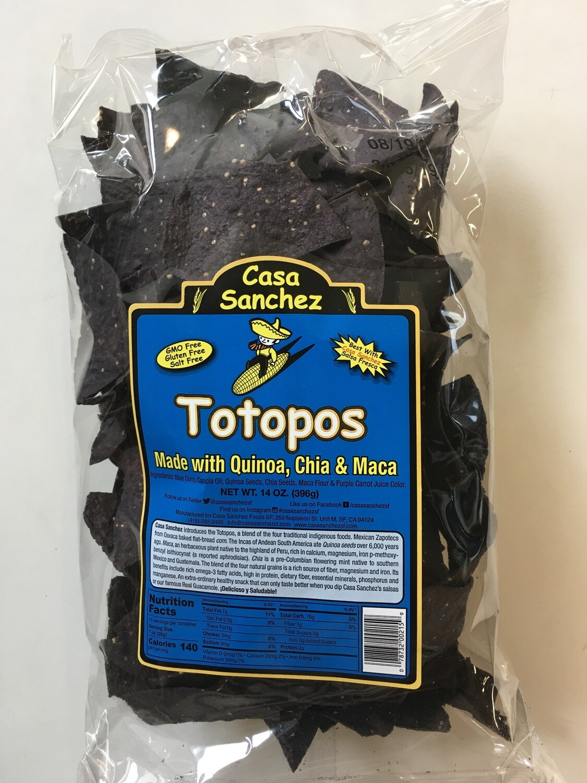 Chips/Big Bag/Casa Sanchez Totopos