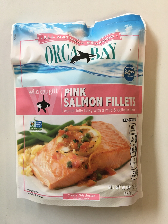 Frozen / Seafood / Orca Bay Alaska Pink Salmon, 10 oz