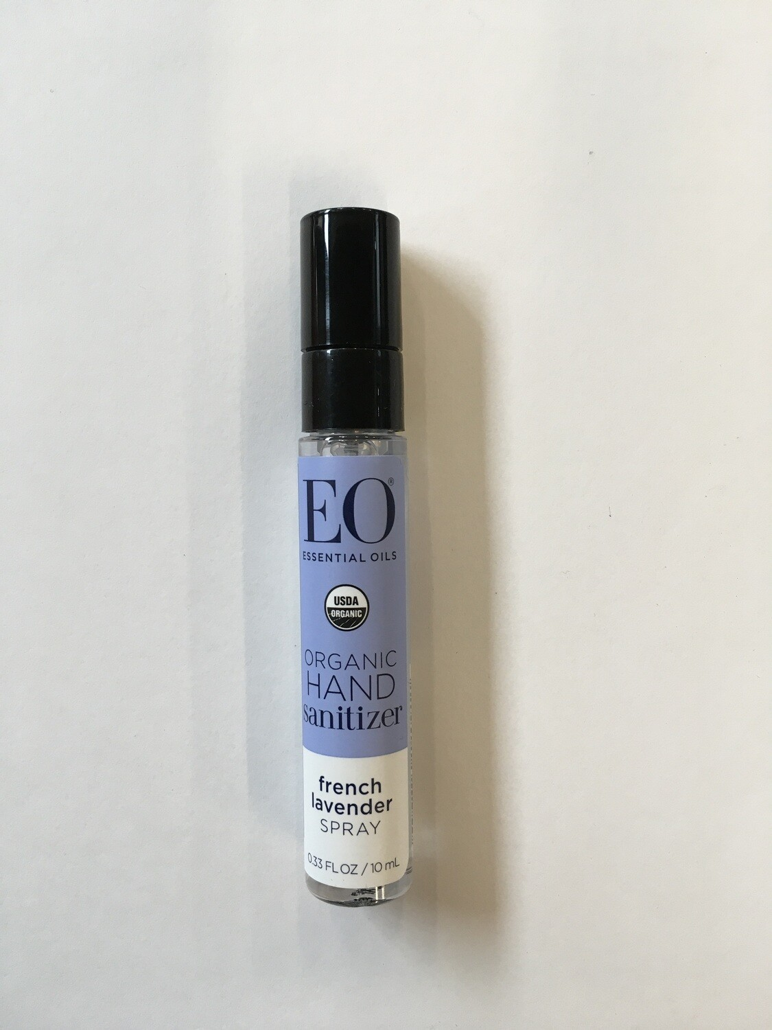 Health and Beauty / Hand Sanitizer / EO Hand Sanitizer, Lavender .33 oz (LIMIT ONE PER CUSTOMER)