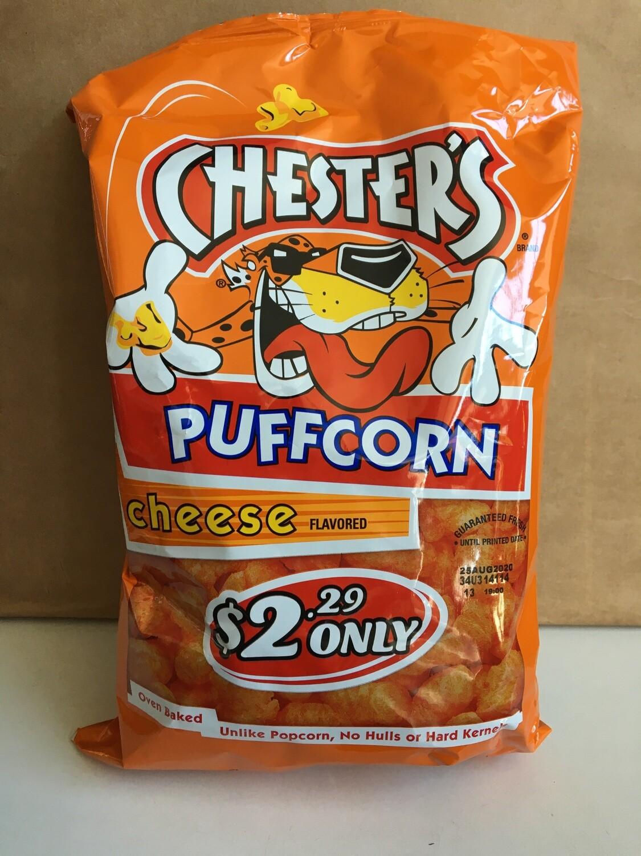 Snack / Popcorn / Chester's Cheese Puffcorn 4.25 oz.