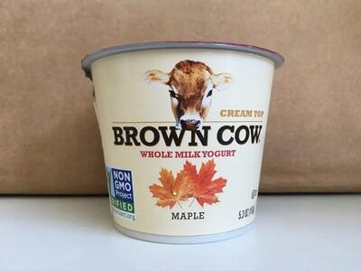 Dairy / Yogurt / Brown Cow Yogurt, Maple.