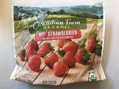 Frozen / Fruit / Cascadian Strawberries, 10 oz.
