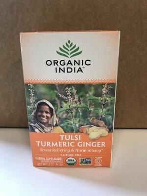 Grocery / Tea / Tulsi Tea, Turmeric Ginger