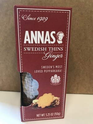 Cookies / Big Bag / Anna's Swedish Thins Ginger