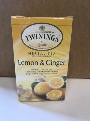 Grocery / Tea / Twinings Lemon Ginger