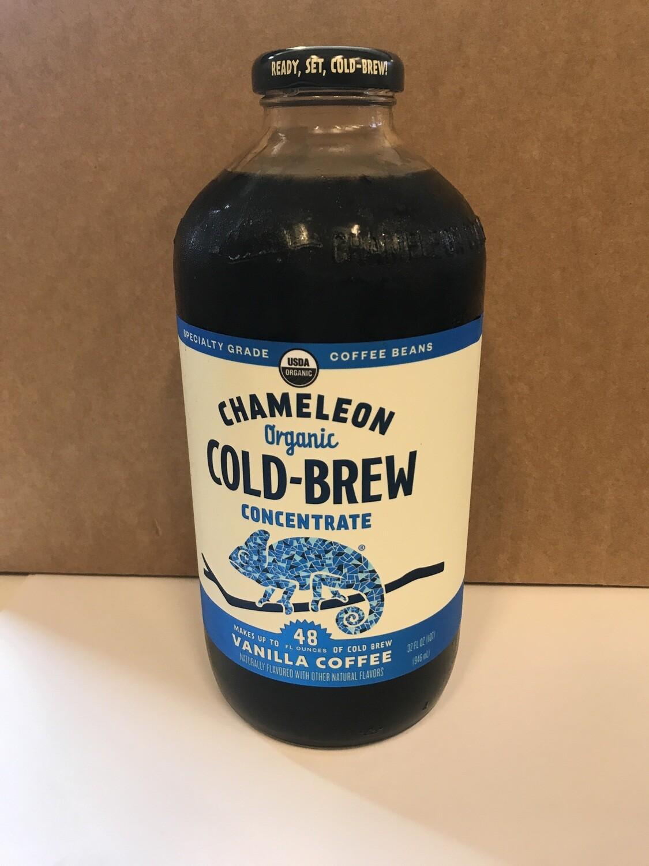 Beverage / Coffee & Tea / Chameleon Organic Vanilla Cold Brew Concentrate, 32 oz.