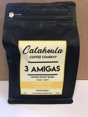 Coffee / Beans / Catahoula Coffee 3 Amigas