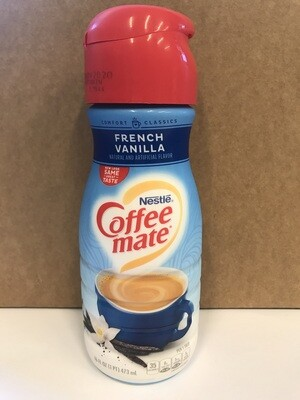 Dairy / Milk Substitute / Coffee Mate Creamer, French Vanilla
