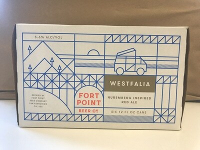 Beer / 6 Pack / Fort Point Westfalia 6pk
