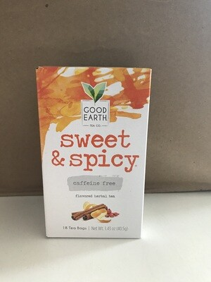 Grocery / Tea / Good Earth Sweet/Spicy Caffeine Free